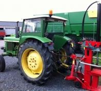 fendeur de buches 14t avec tracteur